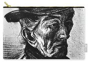 Man With Top Hat Carry-all Pouch