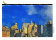 Van Gogh Meets Manhattan Carry-all Pouch