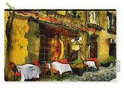 Van Gogh Style Restaurant Carry-all Pouch