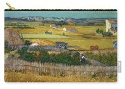 Van Gogh Wheatfield 1888 Carry-all Pouch