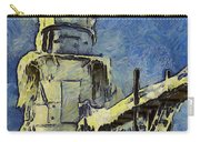 The Frozen Lighthouse Lake Michigan Carry-all Pouch