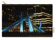 Vancouver - 2010 Olympic Cauldron Lit At Night Carry-all Pouch