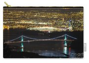 Vancouver Nightlights Carry-all Pouch