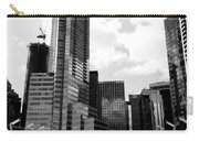 Vancouver Olympic Cauldron- Black And White Photography Carry-all Pouch