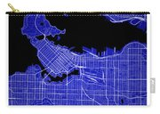 Vancouver Street Map - Vancouver Canada Road Map Art On Colored  Carry-all Pouch