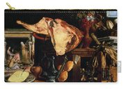 Vanitas Still Life Carry-all Pouch by Pieter Aertsen