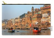 Varanasi From The Ganges River Carry-all Pouch