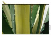 Variegated Agave Carry-all Pouch