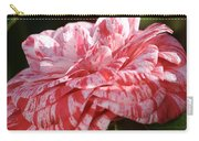 Variegated Camellia Carry-all Pouch