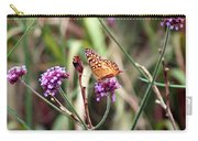 Variegated Fritillary Butterfly Carry-all Pouch