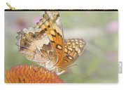 Variegated Fritillary On Cone Flower Carry-all Pouch