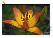 Variegated Lily Carry-all Pouch