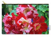 Variegated Multicolored English Roses Carry-all Pouch