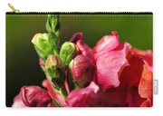 Variegated Snapdragon Carry-all Pouch