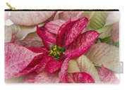 Varigated Poinsettia Carry-all Pouch