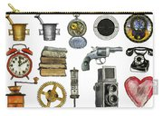 Various Object - Signs - Icons Carry-all Pouch