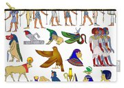 Various Themes Of Ancient Egypt Carry-all Pouch