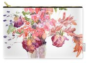 Vase Of Dried Flowers Carry-all Pouch