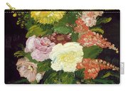 Vase Of Flowers, 1886 Carry-all Pouch