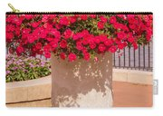 Vase Of Petunias Carry-all Pouch