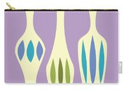 Vases On Purple Carry-all Pouch