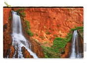 Vaseys Paradise Twin Falls Carry-all Pouch by Inge Johnsson