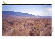 Vast Desolate And Silent - Lyon Nevada Carry-all Pouch