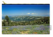 Vast View And Lupine Carry-all Pouch by Robert Bales