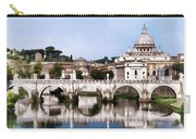 Vatican City Seen From Tiber River Carry-all Pouch
