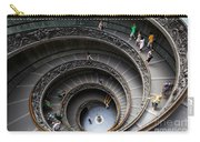 Vatican Spiral Staircase Carry-all Pouch by Inge Johnsson