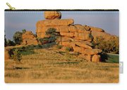 Vedauwoo Rocks Sunset Wyoming Carry-all Pouch