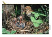Veery At Nest Carry-all Pouch