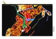 Vegas Cowboy Sign Carry-all Pouch