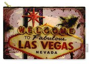 Vegas Destructed Carry-all Pouch