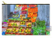 Vegetable And Fruit Stand Carry-all Pouch