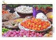 Vegetable Vendor - Omkareshwar India Carry-all Pouch