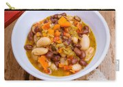 Vegetarian Chili With Pesto Carry-all Pouch