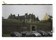Vehicles At The Parking Lot Of Stirling Castle Carry-all Pouch