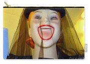 Veiled Laugh Carry-all Pouch