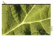 Veins Of A Leaf Carry-all Pouch