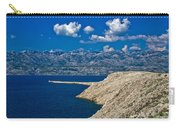 Velebit Mountain From Island Of Pag Carry-all Pouch
