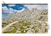 Velebit Mountain Road Serpentine Near Tulove Grede Carry-all Pouch