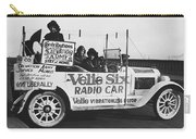 Velie Six Radio Car Carry-all Pouch