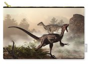 Velociraptors Prowling The Shoreline Carry-all Pouch
