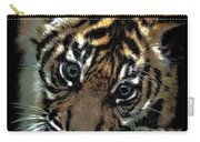 Velvet Tiger Cub Carry-all Pouch