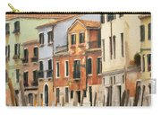 Venetian Apartments Impasto Carry-all Pouch