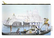 Venetian Gondola, From Vedute Dei Carry-all Pouch
