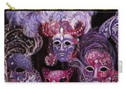 Venetian Masks Carry-all Pouch