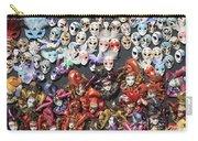 Venetian Masks Carry-all Pouch
