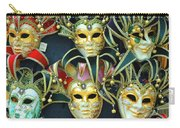 Venetian Opera Masks Carry-all Pouch